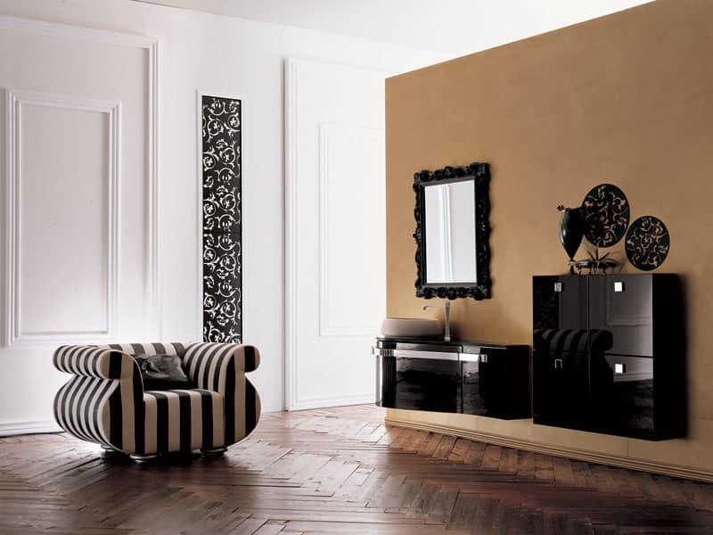 Neobarocco arredamento for Arredamento stile barocco moderno
