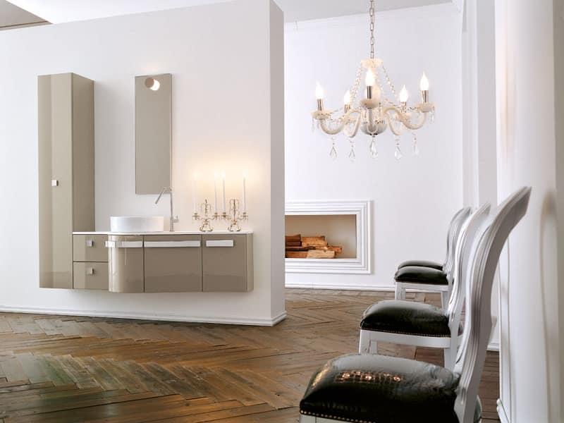 Perfect mobili bagno zara arredo bagno mobile ad angolo for Arredo bagno con due lavelli