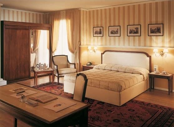 Collezione Direttorio, Arredamento in stile classico per suite d'albergo, realizzata su misura