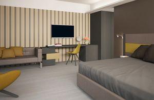Italian City Hotel, Arredo completo per camera albergo