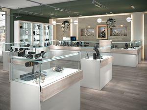 COM/QF18, Bancone e vetrine per negozi