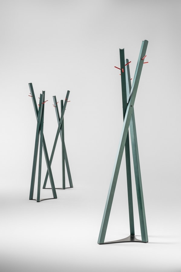 ART. 0076-LE TOBIAS, Appendiabiti con pali incrociati