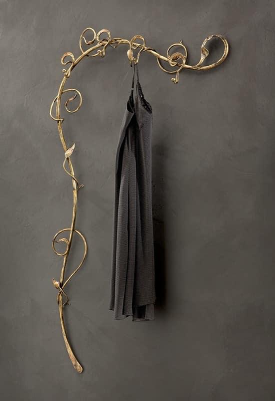 Attaccapanni da parete in ferro battuto, stile moderno | IDFdesign