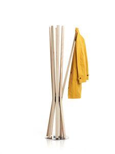Bloom, Appendiabiti girevole, con braccia flessibili