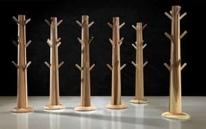Immagine di IAPPO TREE, appendiabiti legno o metallo
