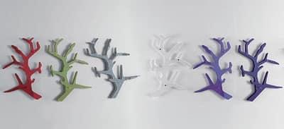 Appendiabiti in vetro, a forma di albero | IDFdesign