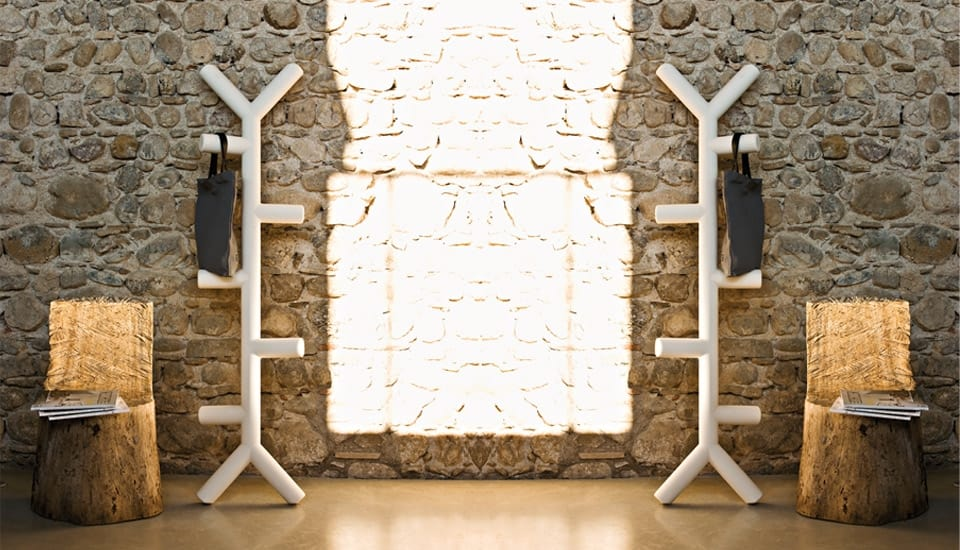 Appendiabiti Design Albero.Attaccapanni Design A Forma Di Albero Idfdesign