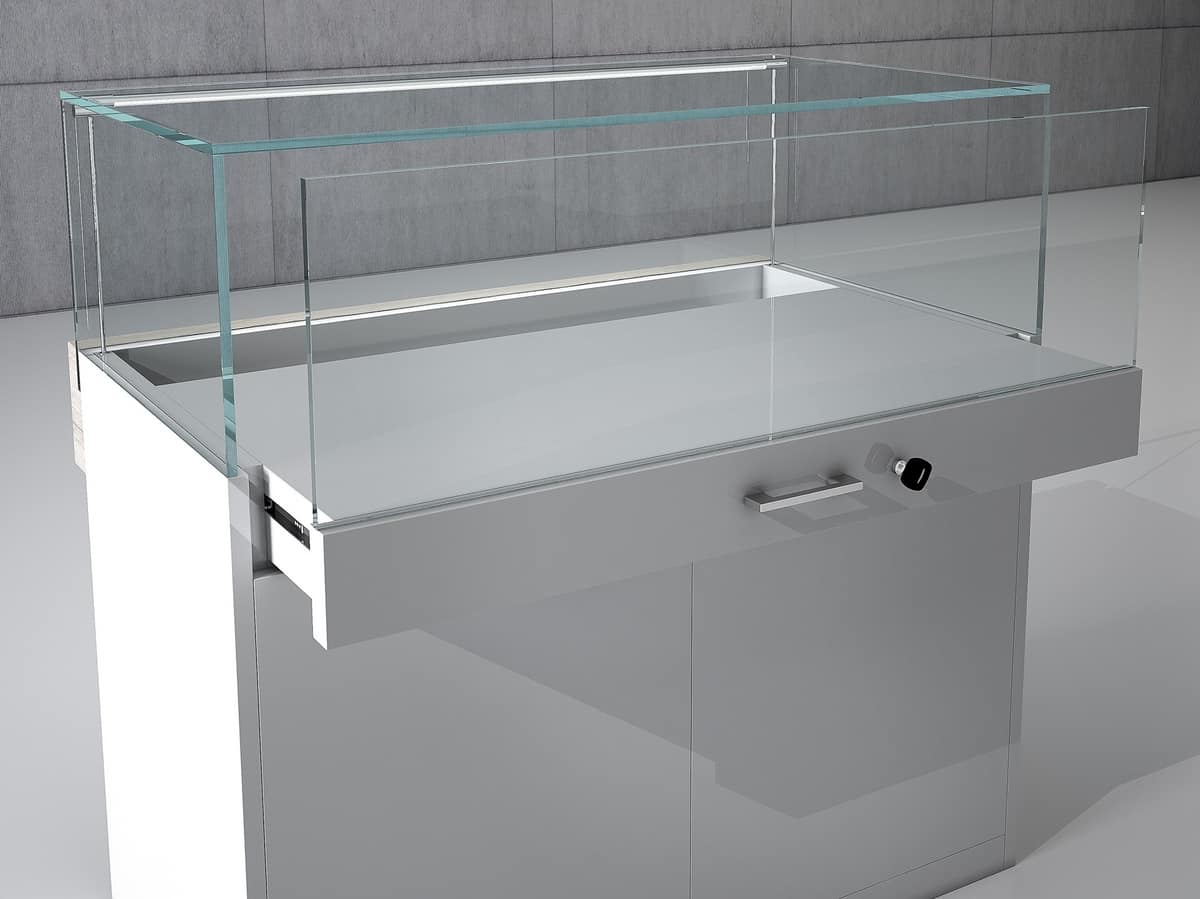 COM/QF3, Banconi modulari per gioellerie