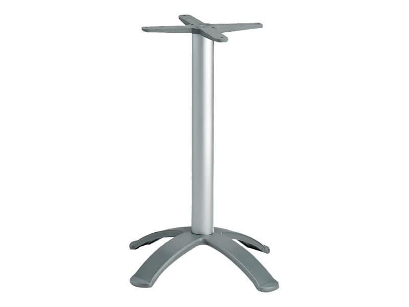 4 ped base h 115 cod. BGA4K, Base per tavolo da bar, in alluminio anodizzato