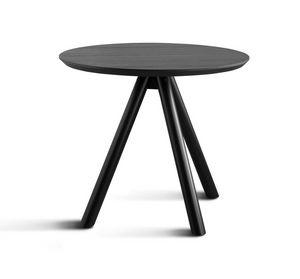 ART. 0098-3 CONTRACT, Base per tavolo, in legno, a tre gambe