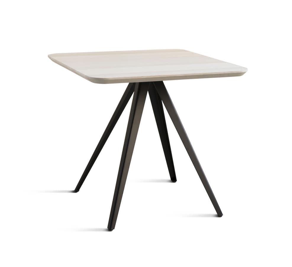 Bar pub café Basi tavolo base con gambe | IDFdesign