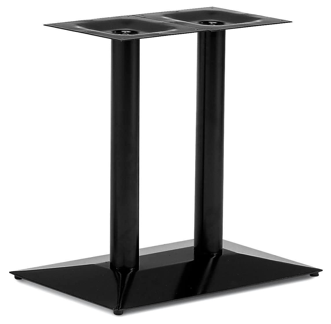 Base rettangolare per tavolo struttura in for Grandi piani domestici personalizzati
