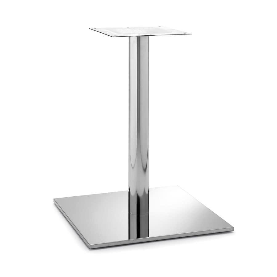 Art.256, Base tavolo quadrata adatta sia per l'ambiente contract che casa