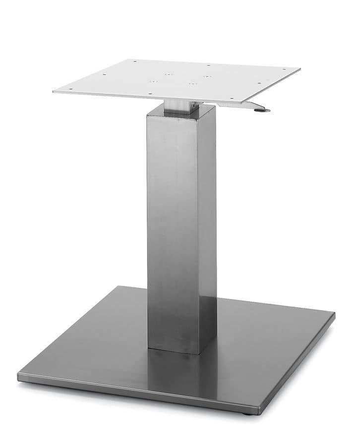 Art.260/GAS, Base tavolo quadrata con altezza regolabile a gas