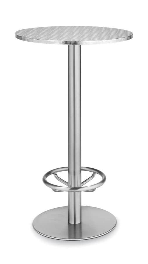 Art.290/Ring, Base tonda per tavolo, struttura in metallo, per uso contract e domestico
