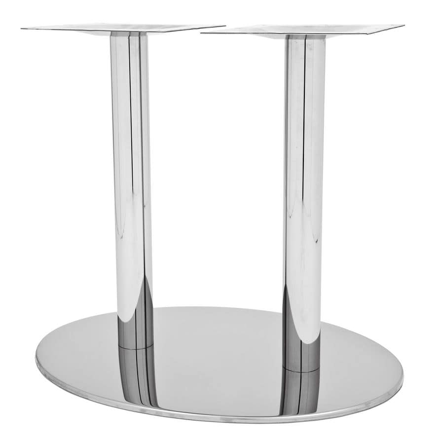 Art.295/EL, Base tavolo ellittica per piani di grandi dimensioni