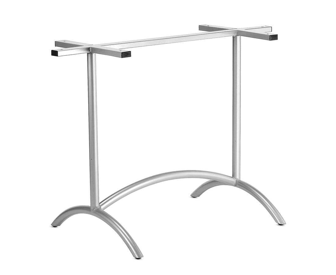 Art.325, Base per tavolo contract, struttura in metallo