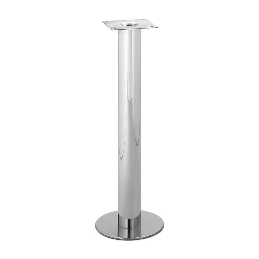 Art.72, Base per tavoli contract con fissaggio a pavimento