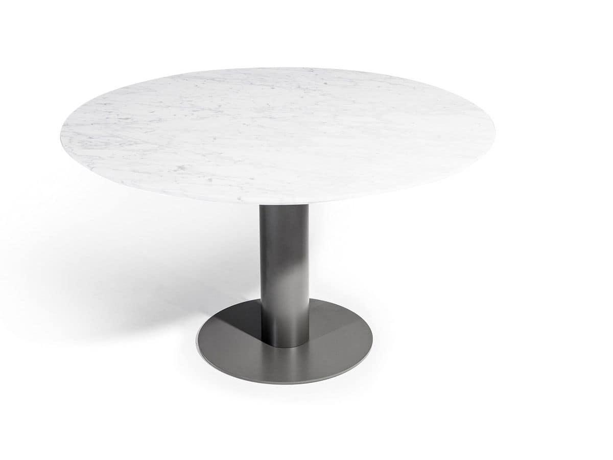 Big, Base per tavolo, con piattaforma rotonda