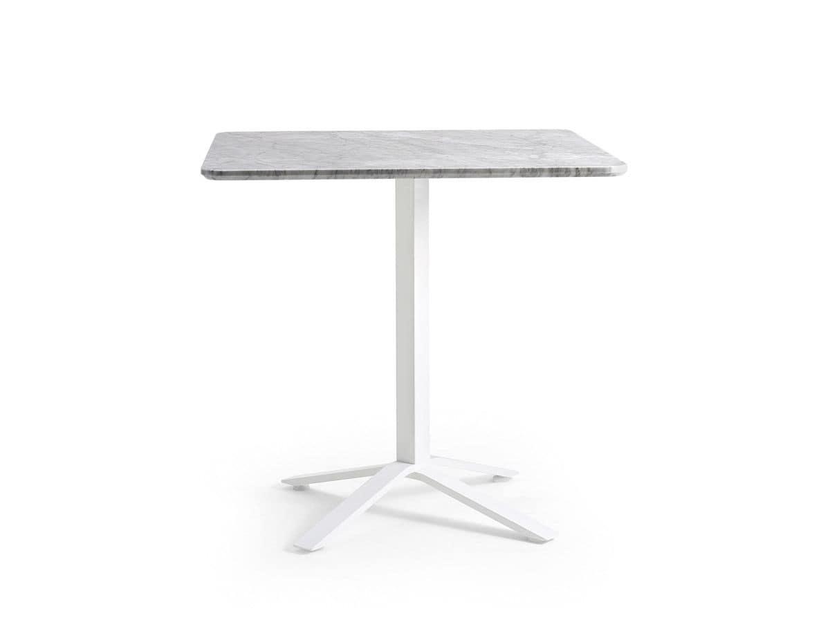 Blade, Base per tavolo bar, da esterno, compatibile con vari piani