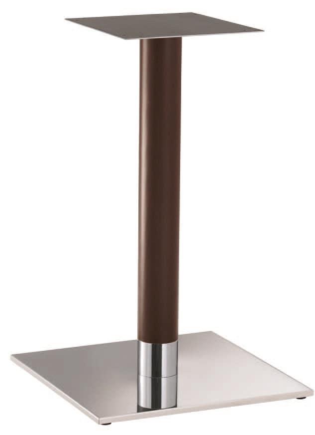 FT 070 Wood, Base per tavolino, ideale per bar alla moda