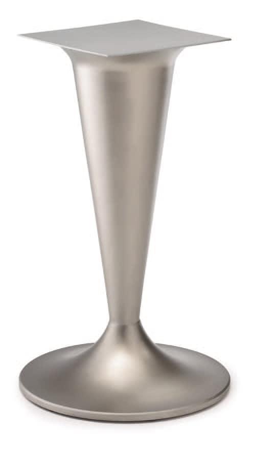 FT CONO 1, Base per tavolo, in ghisa, colonna a forma di cono