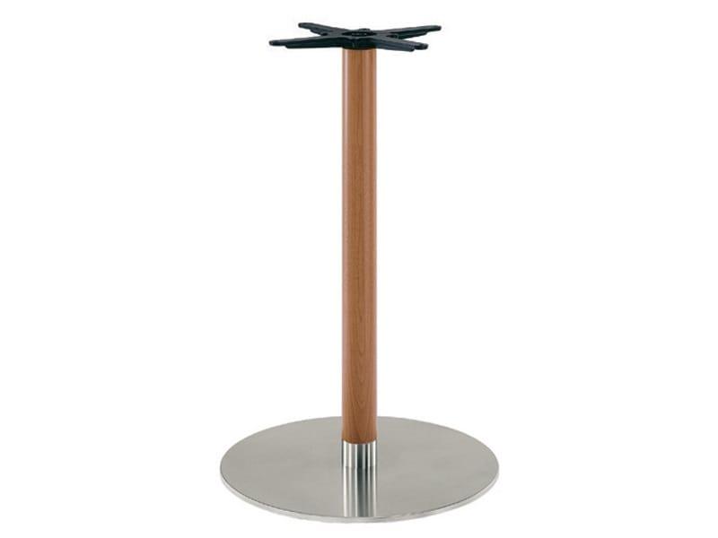 Inox.R 670, Base per tavolo in acciaio inox