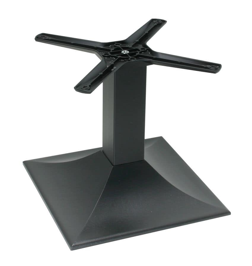 TG01 H.46, Base in metallo per tavolino, per uso contract