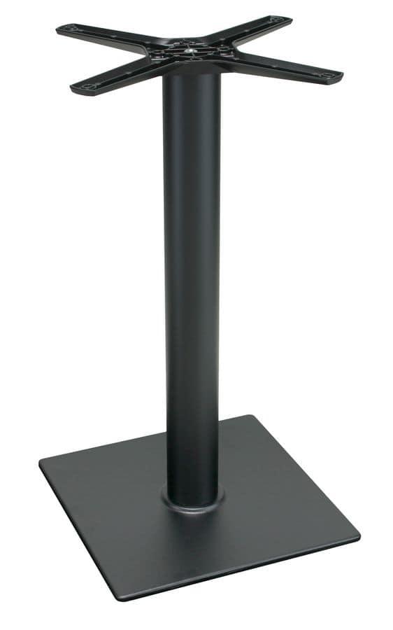 TG11, Base per tavolo in ghisa nera, per bar e ristoranti