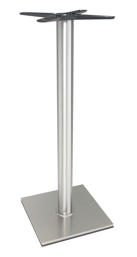 Base in alluminio per tavoli alti per hotel e ristoranti - Tavoli in alluminio per esterni ...