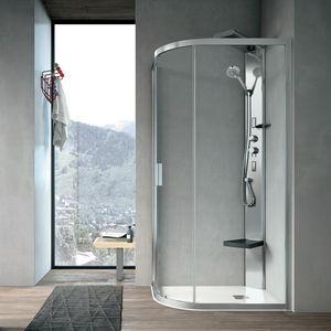 Aster-T, Box doccia con angolo curvo e chiusura magnetica