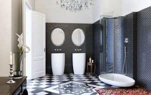 BEYOND SHOWER, Box doccia con piatto, cristallo trasparente