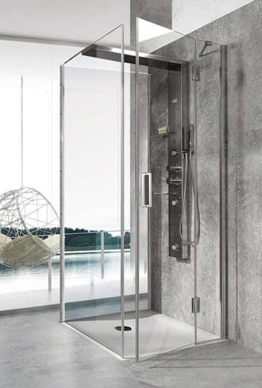 Bristol Box 6, Cabina doccia, multifunzione, per piscina moderna