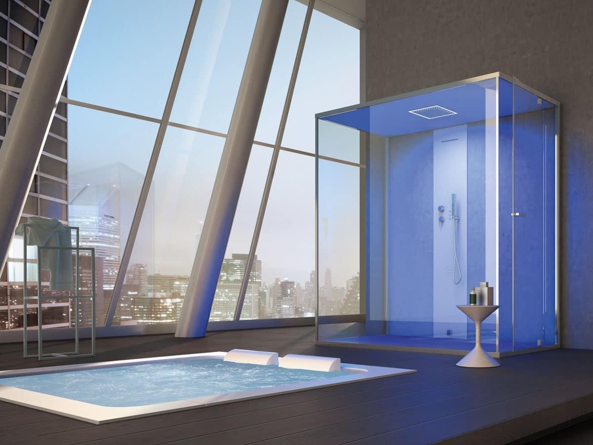 Gemini, Box doccia grande, multifunzionale, per la casa