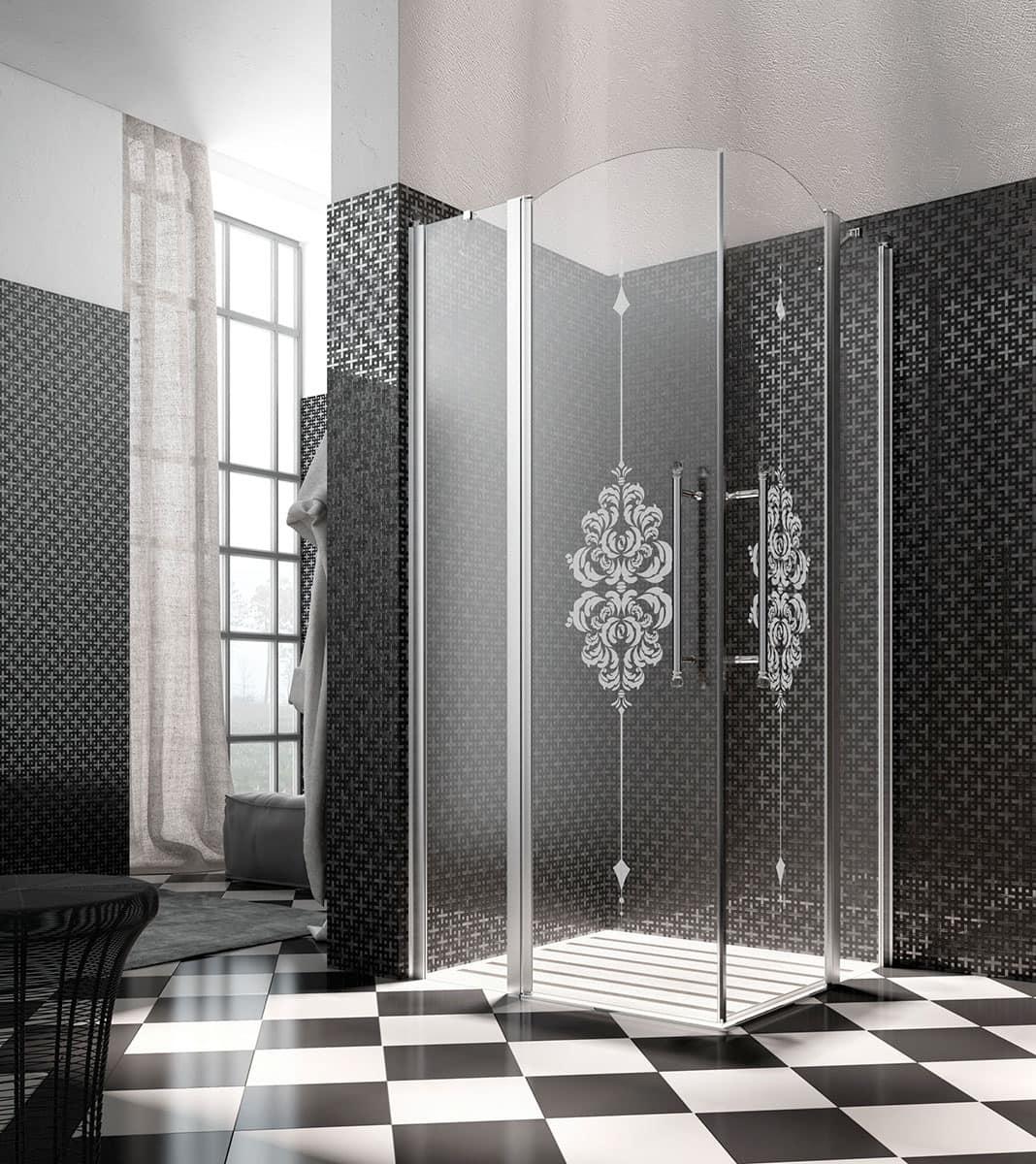 HERITAGE, Cabina doccia multifunzione