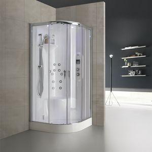 New bi-size, Box doccia con idromassaggio e soffione