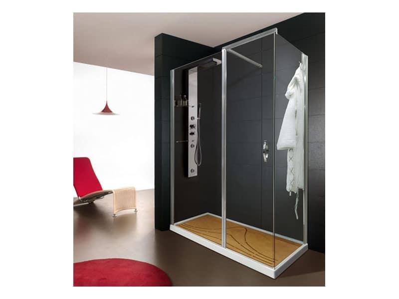 Cabine doccia moderne bagno padronale idfdesign - Cabine doccia moderne ...
