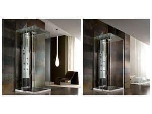 Rigenera Box, Box doccia, stile minimale, multifunzionale, per spa