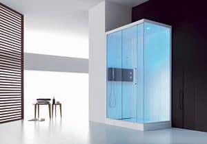 Soul, Cabina doccia multifunzione, telecomando e display digitale
