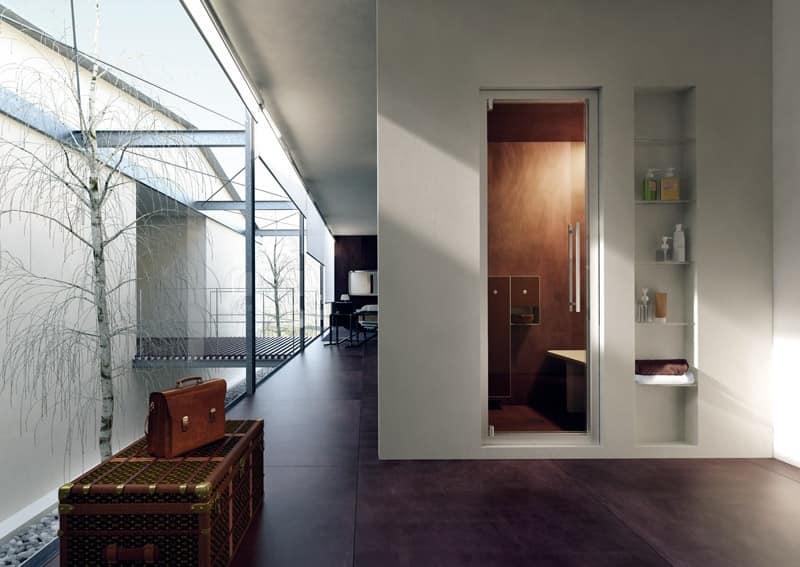 STEAM DOOR, Porte e vetrate per doccia, per Bagni hotel