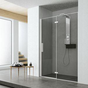 Time con porta battente, Box doccia con anta battente, per spa e casa