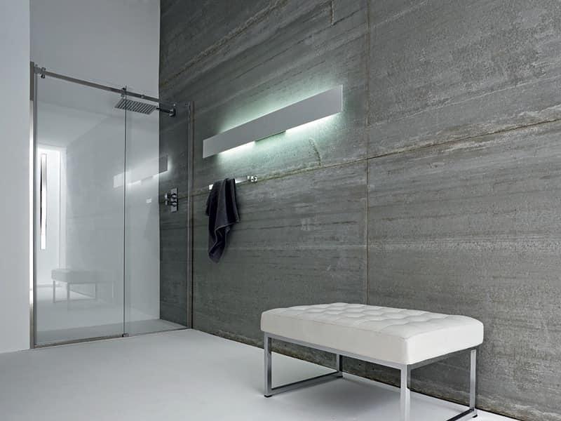 Box doccia parete duylinh for - Chiusura doccia scorrevole ...