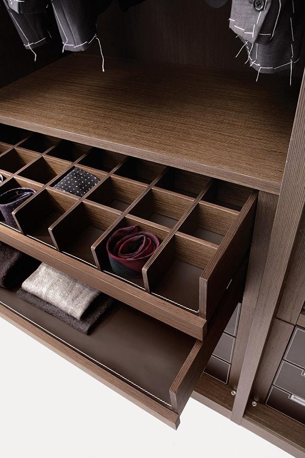 ATLANTE cabina armadio comp.01, Cabina armadio di alto design, con ordine estetico