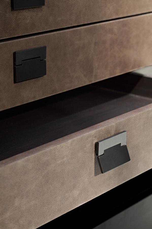 cabina armadio moderna, ottimizzazione degli spazi   idfdesign - Spazi Semplici Personalizzati Cabina Armadio