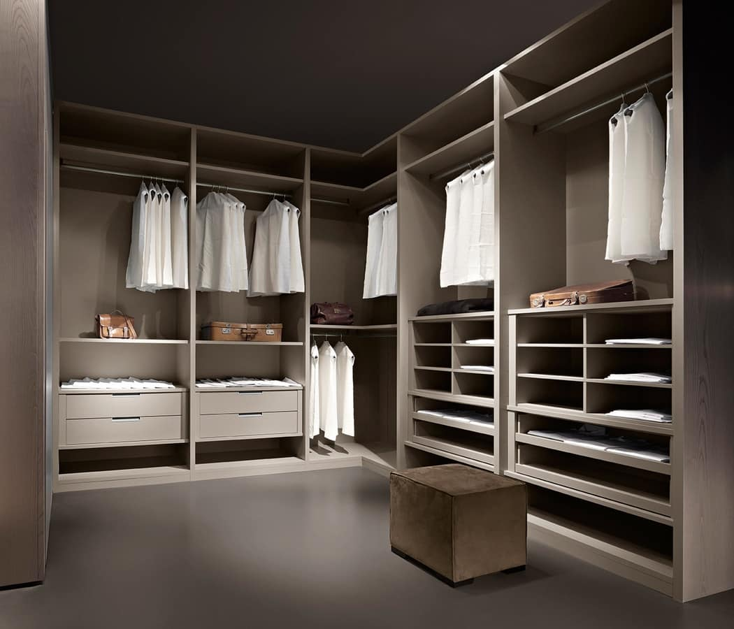 guardaroba moderno zona notte idfdesign. Black Bedroom Furniture Sets. Home Design Ideas