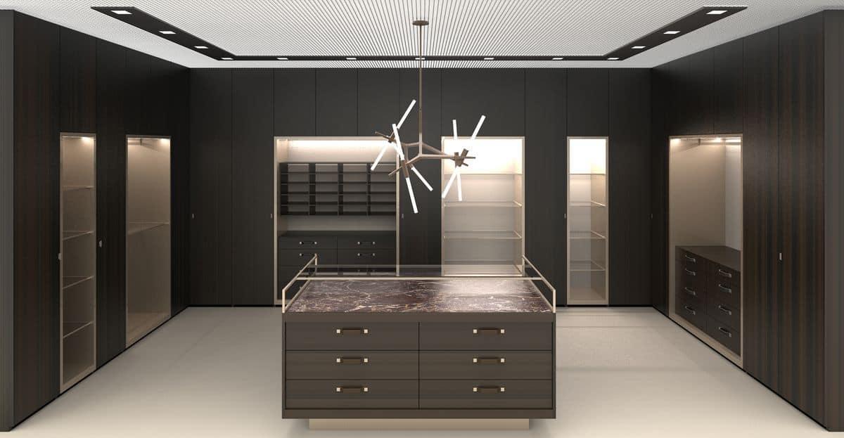 Atlante arredo modulare per cabine armadio moderne ed eleganti idfdesign - Cabine armadio moderne ...