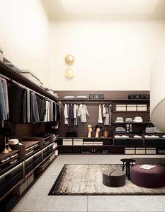 Avenue, Cabina armadio in legno, con accessori personalizzabili