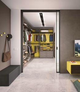 Boxer 1820 cabina armadio, Cabina armadio attrezzata