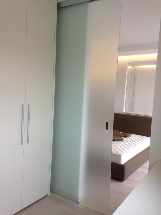 Cabina armadio 02, Cabina armadio, personalizzabile, con porta scorrevole