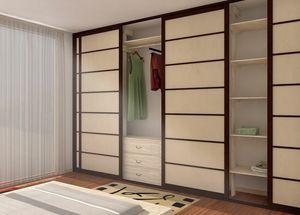 Cabina armadio, Cabina armadio in stile giapponese
